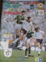 REPUBLIC OF IRELAND v HUNGARY 4th June 1989 World Cup Qualifier