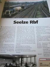 Bahnhof mit Gleisplan Seelze Rbf Niedersachsen 10S