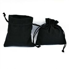 200 PCS Cotton Drawstring Jewelry Packaging Pouches Small Gift Coin Bags 3x3""