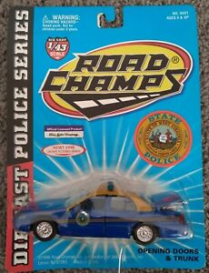 NEW Road Champs Police Series West Virginia State Police Ford Crown Vic 1998