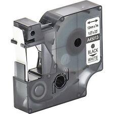 45013 NERO SU BIANCO NASTRO COMPATIBILE DYMO D1 CASSETTA LABELMANAGER 12mm
