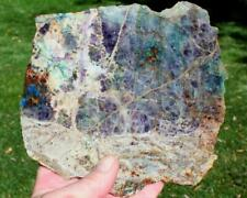 KALEIDOSCOPE PRISM STONE SLAB 525 grams agate/jasper/rock/cab/rough/crystal