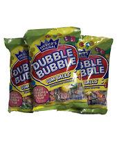 3 x Dubble Bubble Individually Wrapped Gum Balls 4 oz. Bags BB 12/21