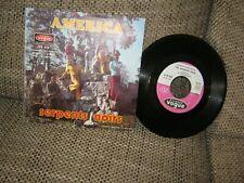 America-Les serpents noirs1972FRANCE4136Vinyl und Cover gut plus