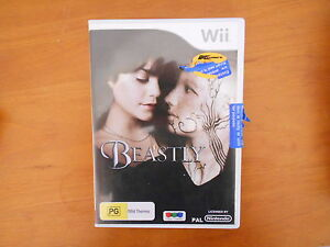 Wii GAME BEASTLY WITH MANUAL - V GD COND - FAST POST