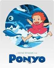 Ponyo Limited Edition Steelbook Blu-ray & DVD Studio Ghibli NEW SEALED