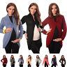 Maternity Button Closure Cardigan Pregnancy Sweater Size 8 10 12 14 16 18 9004