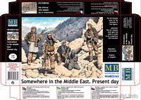 Master Box 35163 Somewhere in the Middle East. Present day Plastic Kit 1/35