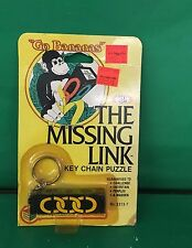 1982 RUBIK'S MISSING LINK Key Chain No. 2213-7 Ideal NOS Unopened Rare Vintage