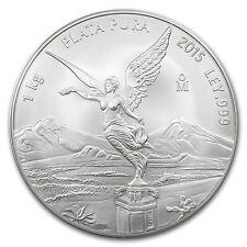 2015 Mexico 1 kilo Silver Libertad BU (In Capsule) - SKU #94658
