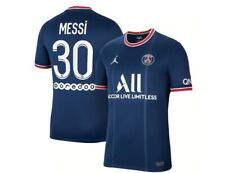 More details for psg leo messi shirt 2022 men #30 home away bnwt