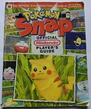 Pokemon Snap - Official Nintendo Player's Guide - Nintendo Power- N64