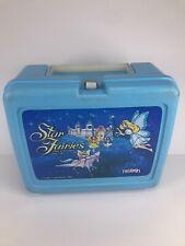 Star Fairies lunch box Blue Thermos Lunchbox Vintage 1985