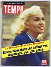 TEMPO n. 50,1955 - Maria CALLAS,Marilyn Monroe,Silvana PAMPANINI, Sofia LOREN