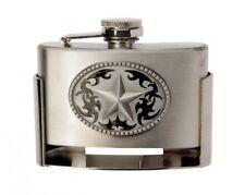 Gürtelschnalle Buckle mit Taschenflasche Flachmann Lone Star Texas Western Flask