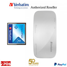 Verbatim Memory Card Reader Writer for Janome Design Card USB connect to PC