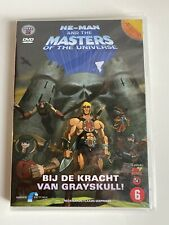 HE MAN AND THE MASTERS OF THE UNIVERSE DVD 4 EPISODES DUTCH, HOLLAND #2 SEALED