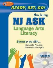 NJ ASK Grade 6 Language Arts Literacy w/ CD-ROM (New Jersey ASK Test Preparatio
