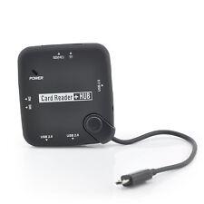 Adapter Kartenlesegerät für Samsung Galaxy Tab S 10.5 8.4 OTG Cardreader USB-Hub