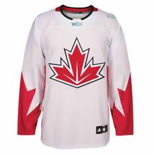 2016 World Cup of Hockey Team Canada adidas Men's Premier White Jersey Sz XXL