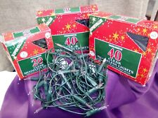 Vintage Woolworth's Xmas lights, 40x40x20 all working and original boxes.