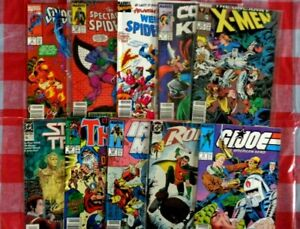 Lot of 100 DC/Marvel  Comic  Books L44