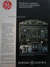 10/1975 PUB GENERAL ELECTRIC AIRCRAFT EQUIPMENT INSTRUMENT DC-10 L-1011 747 AD