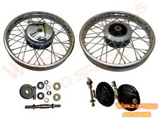 Royal Enfield Complete Front & Rear Wheel Rim 19Inch With Hub