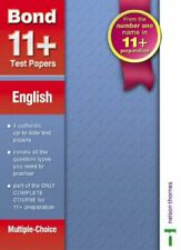 Bond 11+ Test Papers: English (Multiple Choice) (B. by Lindsay, Sarah Pamphlet
