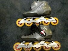 Verducci speed skate with 5-wheel frame, size 40