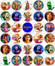 30 x Tangled Rapunzel Party Edible Rice Wafer Paper Cupcake Toppers
