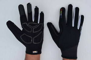 Look Full Finger Cycling Gloves Bicycle BMX MTB Bike Riding Silicon Logo