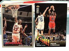 1995-96 Upper Deck Collectors Choice Michael Jordan Player Club Variant Lot