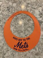 Miracle NY Mets - 1969 NLDS Thom McAn Promo - Hats Off to The Mets - SUPER RARE!