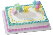 Baby Blocks Shower Balloons cake decoration Decoset cake topper set