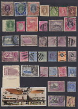 WORLDWIDE - INTERESTING MINT AND USED COLLECTION REMOVED FROM STOCK SHEET - L995