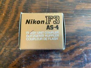 Nikon AS-1 acoplador de unidad de flash para Nikon F2 cámaras en Caja