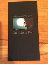 Telefonkarte Achenbach Art Edition 1 – Nam June Paik 6DM ** NEU **
