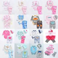 Lifelike Baby Dolls Romper Dress Clothes for 22''-23'' Reborn Baby Girl Boy Doll