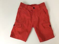 Hugo Boss Boys Shorts, Size Age 3 Years, 94 Cm, Red, Vgc