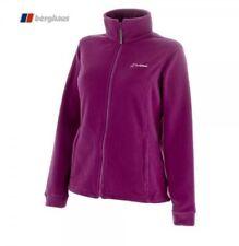 NEW Berghaus Womens Bampton Fleece Outdoor Jacket Coat Purple Pink UK 14 RRP £50