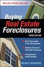 NEW BUYING REAL ESTATE FORECLOSURES 3rd Edition [Paperback] Melissa Kollen-Rice