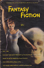 Fantasy Fiction Magazine FIRST ISSUE May 1950 Max Brand Cornell Woolrich
