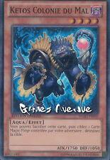 Yu-Gi-Oh ! Carte Ketos Colonie du Mal  WGRT-FR050 - Super Rare