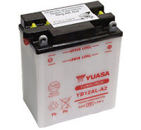 Batterie Yuasa Standard 12V 12AH YB12AL-A2 » PEUGEOT JETFORCE 125 SATELIS 125