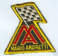 Mario Andretti Indy Car Patch