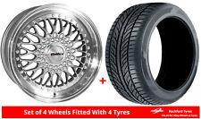 "Alloy Wheels & Tyres Wider Rears 18"" Calibre Vintage Merc C-Class C43 AMG [W202]"