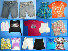 15 Piece Lot of Nice Clean Girls Size 12 Spring Summer Everyday Clothes ss62