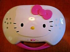 2011 Hello Kitty Cd Karaoke System/Cd Player Kt2003B Compact Disc No Microphones