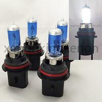 Combo 2 Pair H3 100W Bright White Xenon Halogen Headlight #e1 Fog Light Bulbs